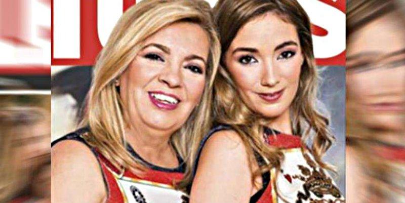 Carmen Borrego y su hija sacuden un buen 'tortazo' a Terelu Campos