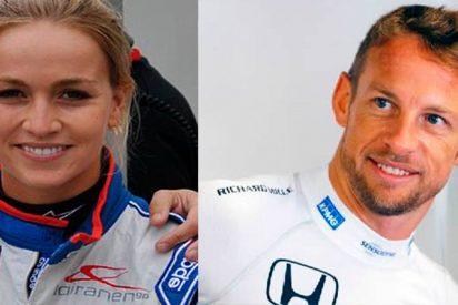 Jenson Button responde a Carmen Jordá y se monta un pitote