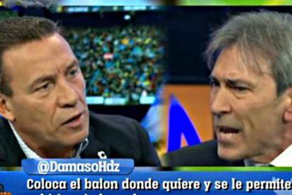 Paco Buyo y Lobo Carrasco casi llegan a las manos en 'El Chiringuito' de Pedrerol