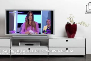 El interminable momento de Alicia Senovilla y Diego Losada en Telemadrid por un fallo técnico