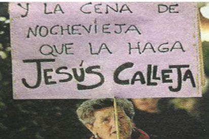 Jesús Calleja protagonista de la huelga feminista sin estar ni en la lista