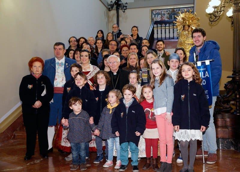 Más de cien mil falleros y músicos participarán en la ofrenda de flores a la Virgen de los Desamparados