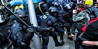 Barcelona: 100 heridos y sólo 9 detenidos en los violentos disturbios montados por los independentistas