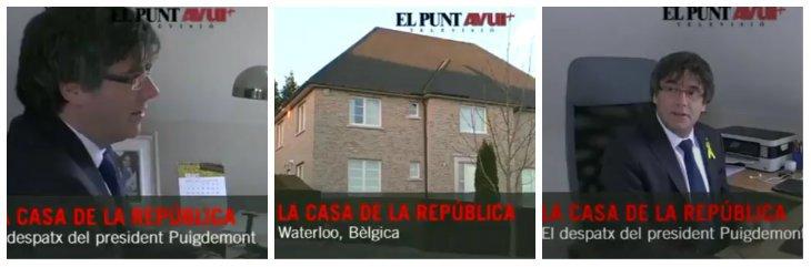 'El Punt Avui' se marca un '¡Hola!' y nos muestra la fabulosa mansión del fugado golpista 'Puchi' en Bélgica