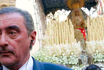 Carlos Herrera la lía en la Semana Santa sevillana por este gesto