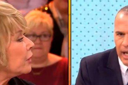 """Carlos Lozano llama """"pedante"""" a Mila Ximénez y """"cobardes"""" a todos los de Sálvame"""