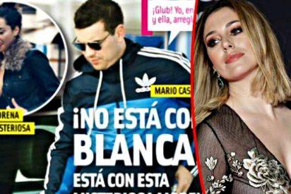 Pillan a Mario Casas besando a una joven que no es Blanca Suárez