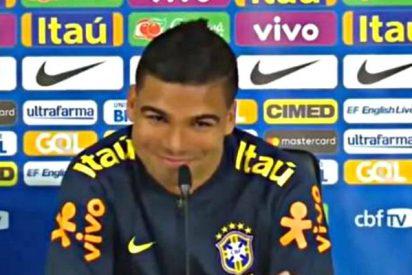 """Casemiro lo tiene claro con Douglas Costa: """"Le parto por la mitad"""""""