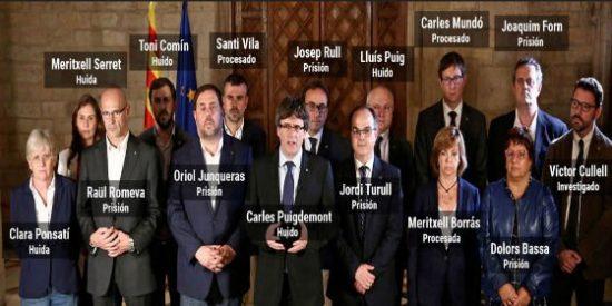 La imagen de la irresponsabilidad personal e inmadurez política de la Cataluña golpista