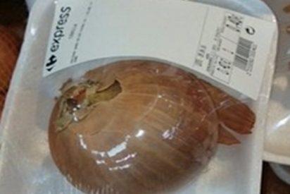 Así es la cebolla envasada que hace llorar a España