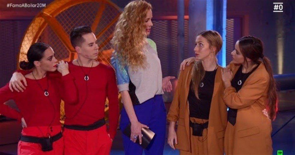Shyno, Oriana, Claudia y Mónica, nuevos nominados de 'fama a bailar'