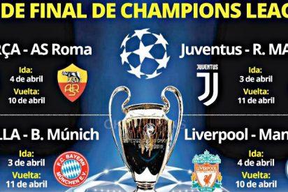 Champions: Un sorteo de cuartos duro pero el Real Madrid quiere otra