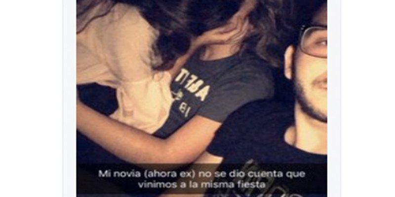 Este chico pilla a su novia besándose con otro, y su reacción se hace viral