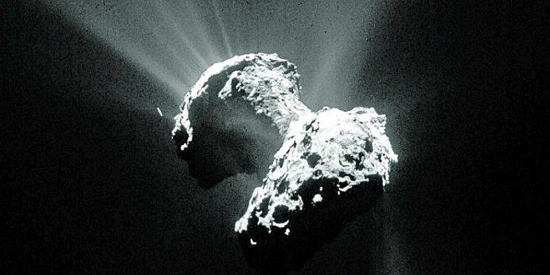 El famoso cometa 'Chury' nació de una colisión catastrófica