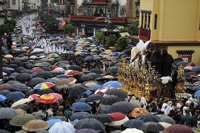 La lluvia y el viento amenazan las procesiones del Jueves y Viernes Santo