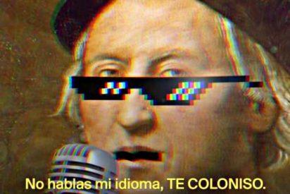 """Cristobal Colón: """"Te coloniso"""""""