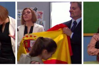 TV3 parodia a Cospedal y Méndez de Vigo obligando a niños catalanes a disparar, matar y besar la bandera de España