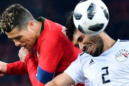 El super doblete de Cristiano en 3 minutos para ganar a Egipto