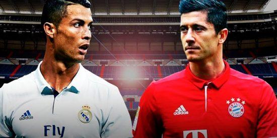 ¿Podrían jugar juntos en el Madrid, Cristiano y Lewandowski?