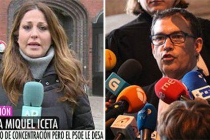 La reportera de Telecinco pilla al abogado de Puchi a voces y cabreado como una mona por el viaje del KO