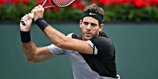 Indian Wells: El gigante Juan Martín del Potro frena al maestro Roger Federer