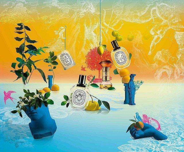 Eau des Sens: El jardín de las Hespérides de diptyque