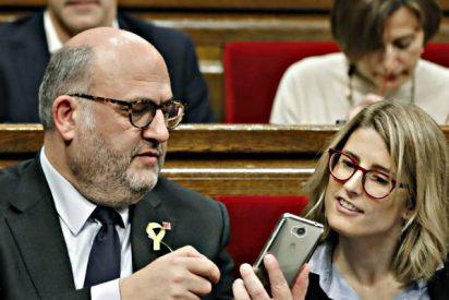 El Parlament catalán reivindica el referéndum ilegal y la figura del prófugo Puigdemont