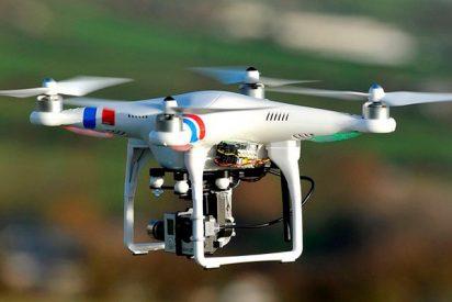 Así lava este dron modificado las palas de los aerogeneradores