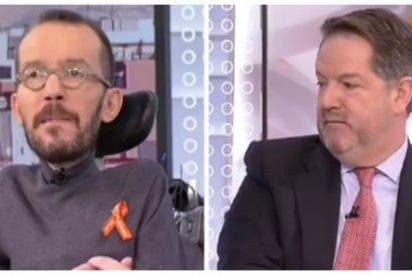 El vengativo 'Echeminga' pone en la diana al director del ABC tras el revolcón que le dio al podemita en TVE
