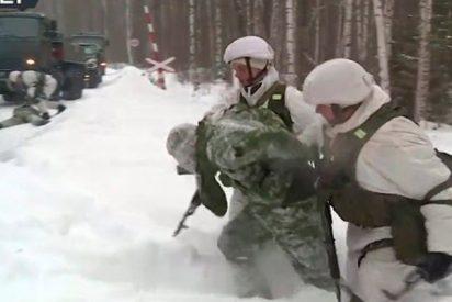 El ejército ruso prueba nuevo armamento durante unos simulacros con misiles a gran escala