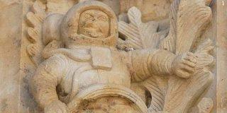 El inquietante astronauta de la Catedral de Salamanca