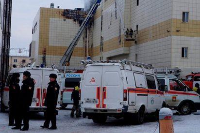 ¿Sabías que el centro comercial incendiado en Kémerovo fue construido sin permiso?