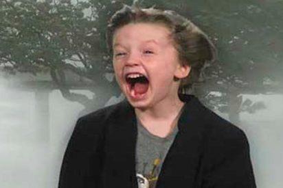 Este niño estadounidense graba su peculiar pronóstico del tiempo y consigue que lo inviten a televisión