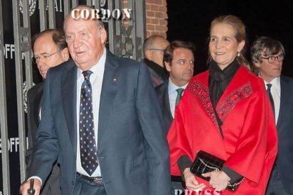 El Rey Juan Carlos y la Infanta Elena acuden a la presentación de la Feria Taurina de San Isidro