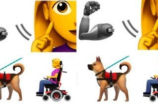 Así son los nuevos 'emojis' de personas con discapacidad de Apple