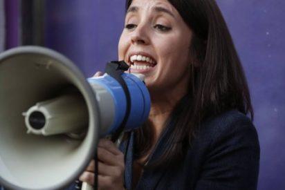 Las fotos nada feministas de Irene Montero que la pillan en bragas