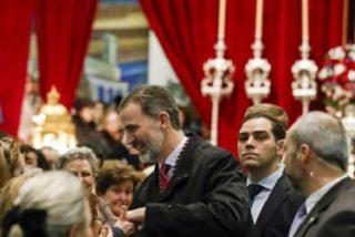 Felipe VI visita, por primera vez como Rey, al Jesús de Medinaceli