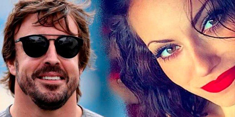 """Fernando Alonso y el """"salseo"""" con una ex concursante de Gran Hermano"""