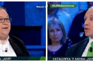 A grito pelado por Cataluña: Un soberbio Inda se cepilla en un plis al separata de cuota de laSexta