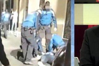 'Bulogate': Ferreras se desmonta a sí mismo defendiendo la actuación de la Policía con el mantero fallecido