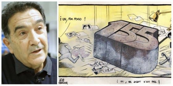 Manipulación apestosa del 'indepevictimismo' y TV3 con el falso despido de un viñetista de El Periódico