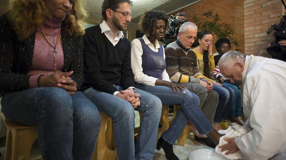 El Papa volverá a celebrar el Jueves Santo en una prisión romana