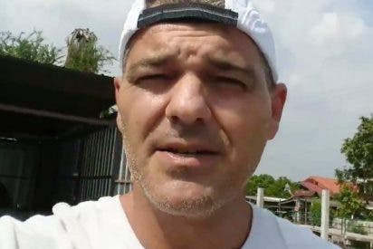 Frank Cuesta muy cabreado con las continuas amenazas que recibe en su casa