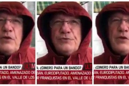 ¿Rancio franquista o hombre de Atapuerca? Un sujeto amenaza de muerte a Miguel Urbán