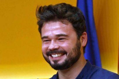 Un tuitero humilla a Gabriel Rufián metiéndole el 'zasca' definitivo