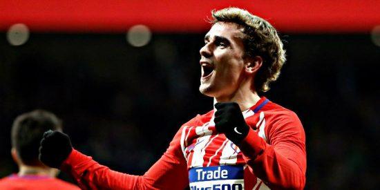 Griezmann descuartiza al Leganés y pone al Atlético de Madrid en la chepa del Barça