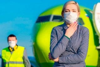 ¿Sabes cuál es la probabilidad que tienes de contagiarte de gripe durante un vuelo?