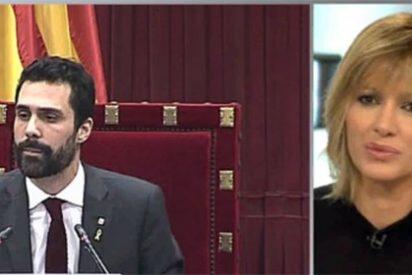 El lamento de Susanna Griso al ver que el Parlament sigue dando un espectáculo dantesco