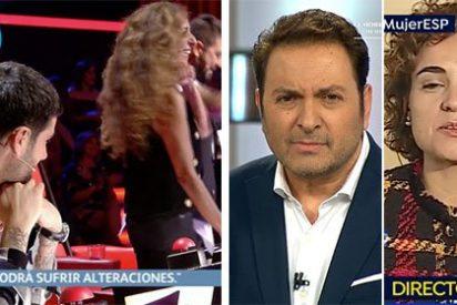 El 8-M deja con el culo al aire a Vasile: problemas para emitir 'El Programa de AR' mientras Antena3 no altera su parrilla