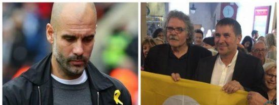Twitter le hace pasar un Via Crucis al tontolaba de Guardiola recordándole el buen rollito del separatismo con ETA